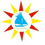 new clearwater logo with sunburst