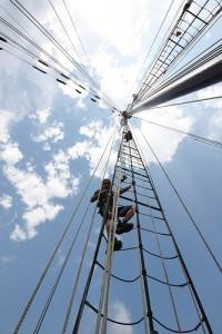 Climbing Aloft