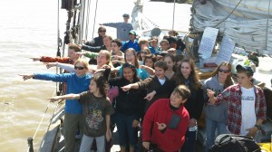 Students Onboard Clearwater