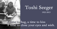 Remembering Toshi Seeger