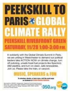 Peekskill to Paris