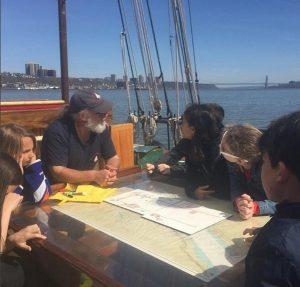Mystic Whaler 1st Education Sail 2016