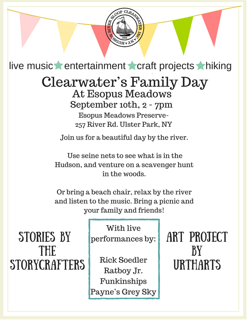 Clearwater's Family Day at Esopus Meadows (1)