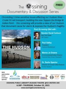 Hudson River At Risk Poster