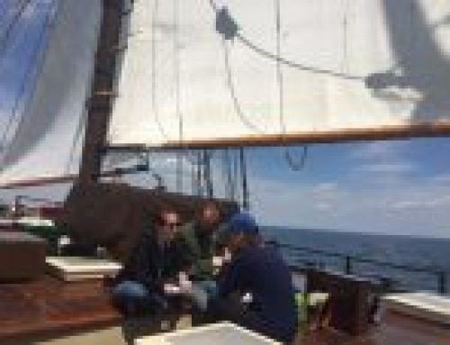 Mystic Whaler Joins Clearwater for Spring Education Sails