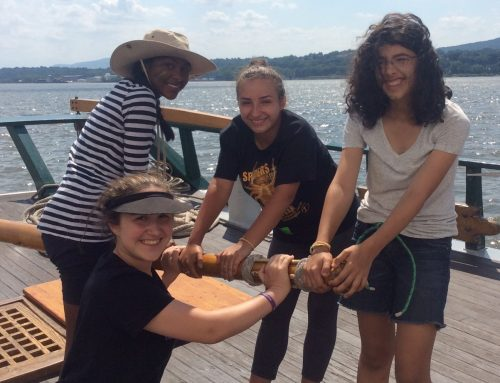Clearwater Hosts Youth Empowerment Programs on the Hudson River