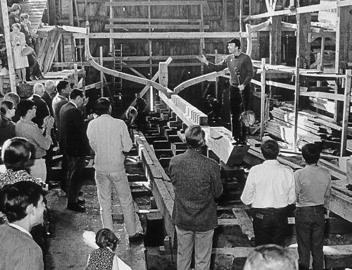 Clearwater Commemorates the Fifty Year Anniversary of the Historic Sloop's Keel Laying