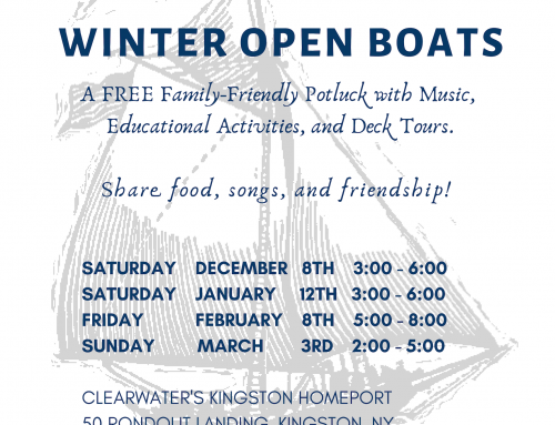 Winter Open Boats!