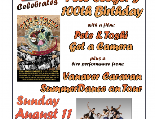 Rosendale Theater Celebrates Pete Seeger's 100th Birthday with Vanaver Caravan