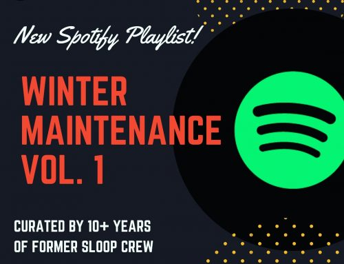 Spotify Playlist: Winter Maintenance Vol. 1
