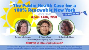 The Public Health Case for a 100% Renewable New York- Beyond Indian Point