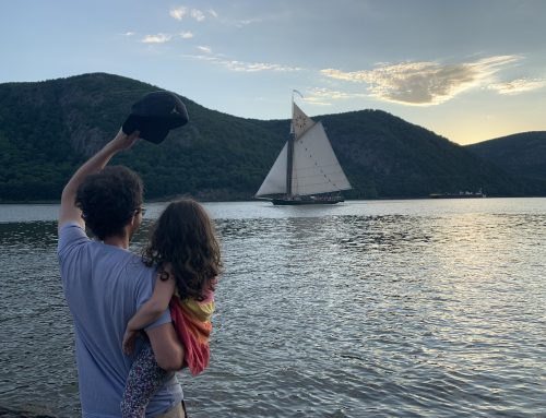 Sloop Clearwater on the Hudson River is a Sign of Spring